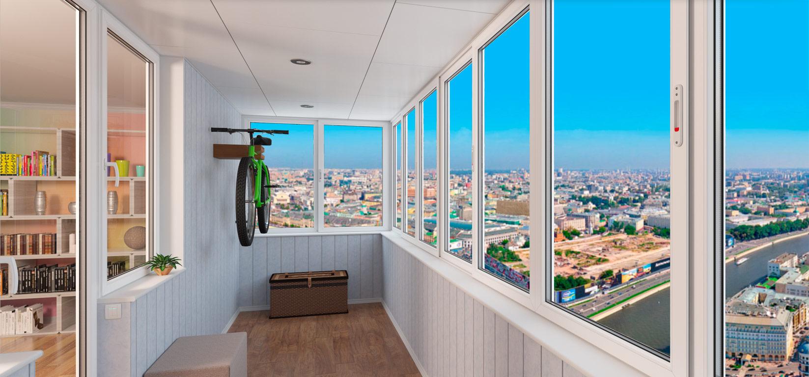 Остекление балконов и лоджий в обнинске пластиковыми окнами .